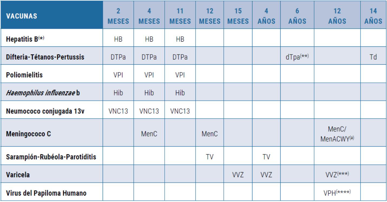 Calendario Vacunas 2020 Andalucia.La Vacuna Tetravalente Frente A La Meningitis Se Incorpora Al