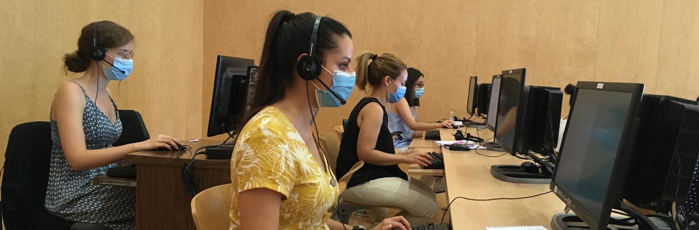 Esther Amores, enfermera de Vigilancia Epidemiológica