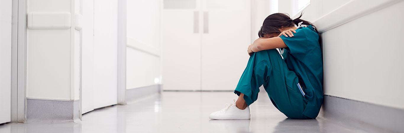 Así son las secuelas psicológicas de la enfermería que lucha contra la pandemia